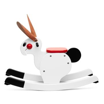 Playsam - Rocking Rabbit, white