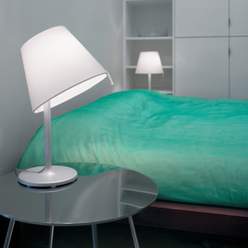 Artemide - Melampo Notte table lamp, gray aluminum