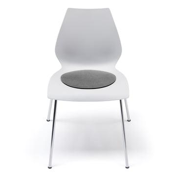 Hey sign - Felt pad Kartell Maui Chair, anthracite 5mm AR