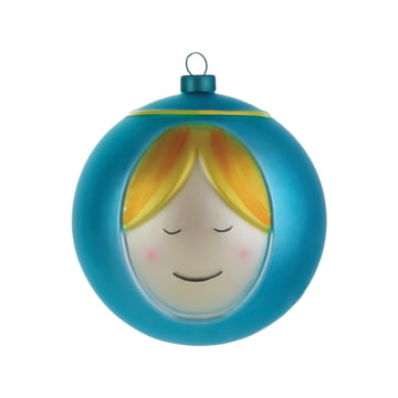 Mary Christmas Bauble by A di Alessi