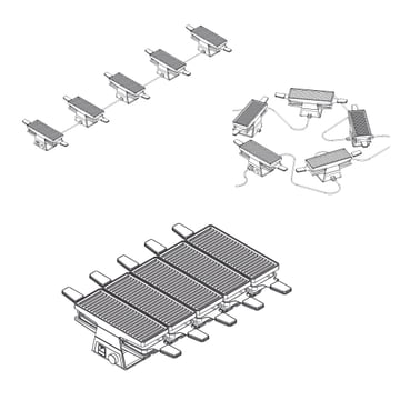 Spring - Raclette 2+ basic module / expansion module