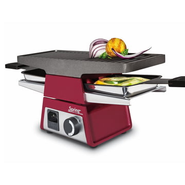 Spring - Raclette 2+ basic module, rot