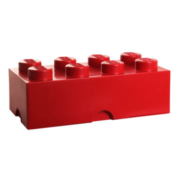Lego - Storage Box 8, red