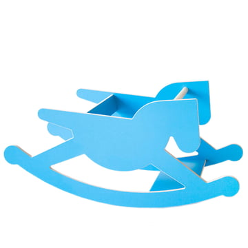 Kaether & Weise - hoppel double rocking horse, blue