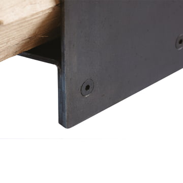 artepuro - wood stacking system wipster - detail, screw