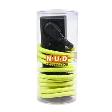 NUD Collection - Extension Cord 3-way socket, yellow (01-TT)