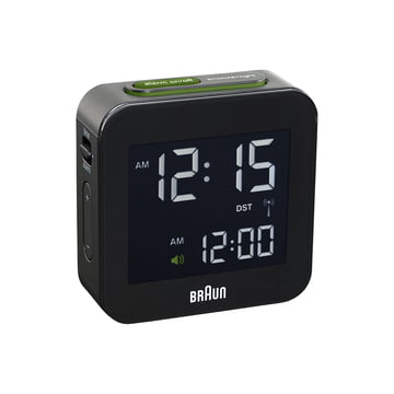 Braun - Digital Funk Alarm-Clock BNC008, black