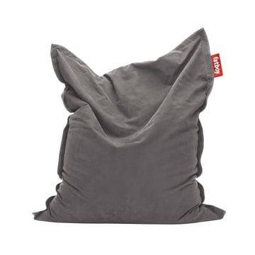 Original stonewashed beanbag by Fatboy in grey