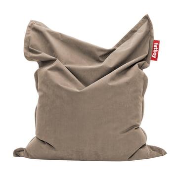 Original stonewashed beanbag by Fatboy in sand