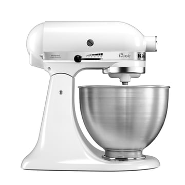 KitchenAid - Classic Stand Mixer, white