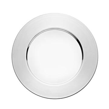 iittala - Sarpaneva plate, stainless steel, 26 cm