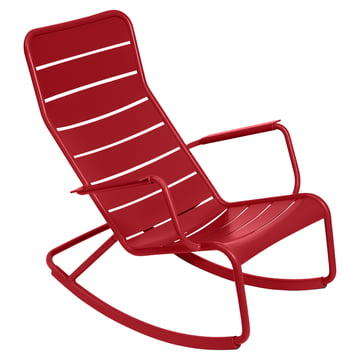 fermob - Luxembourg rocking chair, red