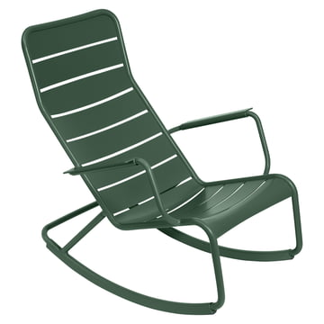 fermob - Luxembourg rocking chair, cedar green