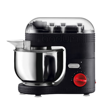 Bodum - Electric Kitchen Machine 4.7L, black, closed