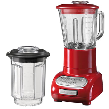 Kitchen Aid - Artisan blender with glass container, Empire Red