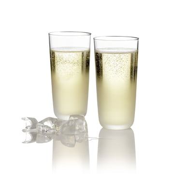 Stelton - frost glass. No. 2 (set of 2)