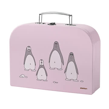 Stelton - Penguin Children's cutlery, pink