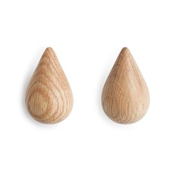 Normann Copenhagen - Dropit Hooks, nature, small, set