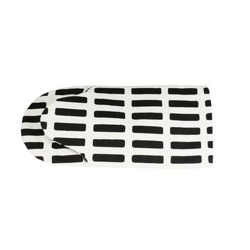 Artek - Siena oven glove, white / black