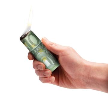 Donkey Products - Burn your money, Euro - ignited