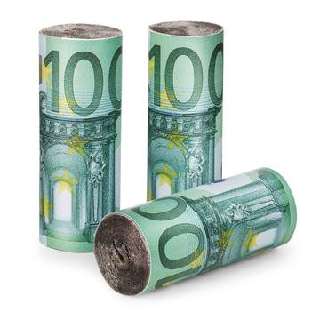 Donkey Products - Burn your money, Euro