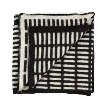 Artek - Siena Blanket, black / white
