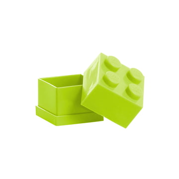 Lego - Mini-Box 4, lime - open