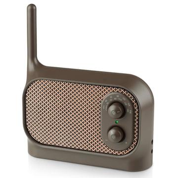 Lexon - Mezzo Radio, brown