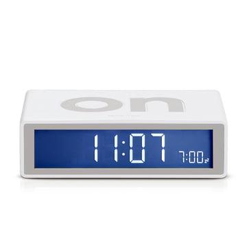 Lexon - Flip LCD-alarm clock, white