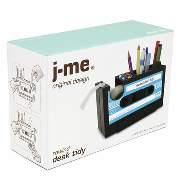 j-me - Rewind desk helper, blue - package