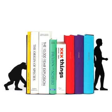 Doiy - Evolution Bookend - with books