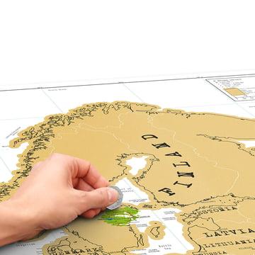 Luckies - Scratch Map Europe