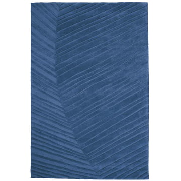 Ruckstuhl - Palm Leaf carpet, saphire blue