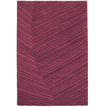 Ruckstuhl - Palm Leaf carpet, brown red