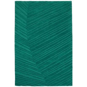 Ruckstuhl - Palm Leaf carpet, pine green