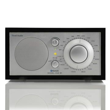 Tivoli Audio - Model One BT, black / silver - Front