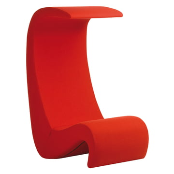 Vitra - Amoeba Highback chair, red
