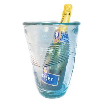 Rob Brandt - Knickglas Vase - with champagne bottle