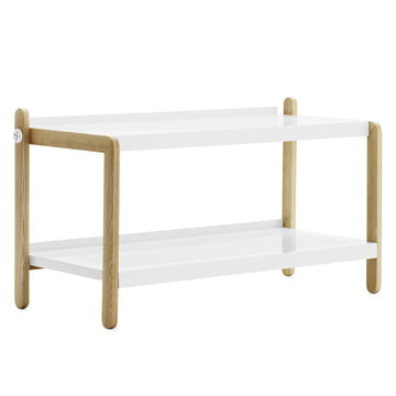 Normann Copenhagen - Sko shoe rack, white