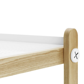 Normann Copenhagen - Sko shoe rack, white - edge, surface