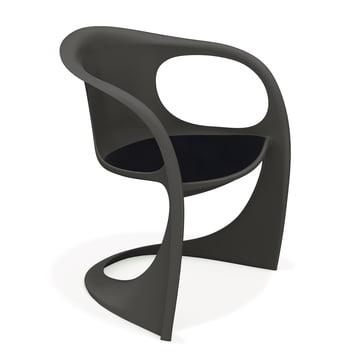 Casalino armchair 2008/10, anthracite / Havana YS009