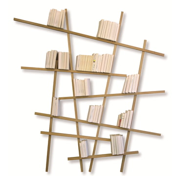 Edition Compagnie - Mikado bookshelf, large, oak