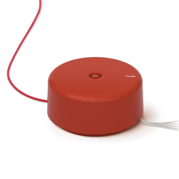 Punkt. - multiple socket ES 01, red