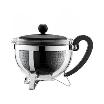 Bodum - Chambord Plastic Tea Maker, black, 1.0 l