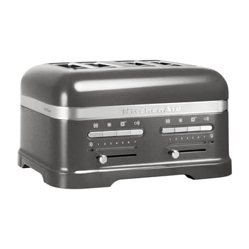 KitchenAid - Artisan Toaster 5KMT, 4 slices, medallion silber