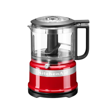 KitchenAid - chopper, red - front