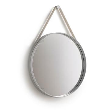 Hay - Strap Mirror, grey 50 cm