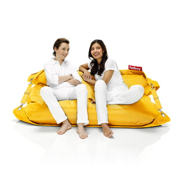 fatboy Outdoor, ochre yellow / with people