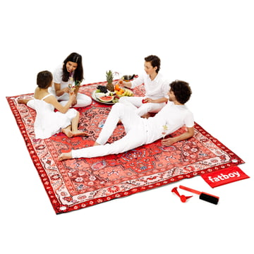 Fatboy - Picnic Lounge red, family and accessories