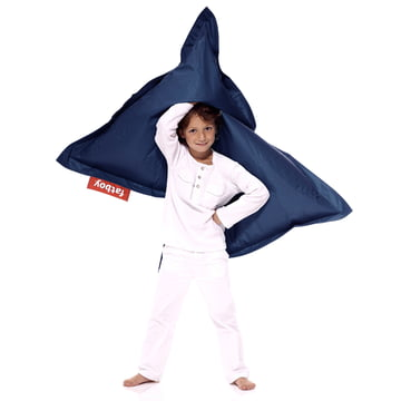 Junior beanbag by Fatboy in dark blue